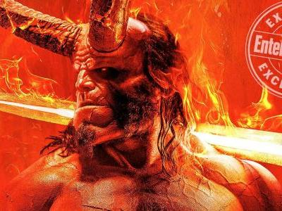 Hellboy Movie Poster Reveals New Look at David Harbour In Costume