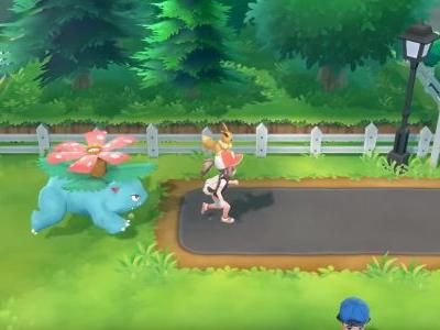 Let's Go Pikachu and Eevee clips show off how different creatures will follow you around