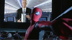 Safety belts, oxygen masks and Spider-Man? United Airlines' in-flight safety video features an unabashed promotional tie-in