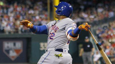 Cespedes hits three homers in first five innings vs. Phillies
