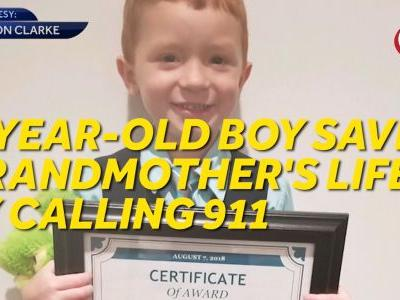 9 Loves: 4-year-old saves grandmother's life by calling 911