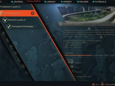 How To Earn Arcanist Rep In Anthem