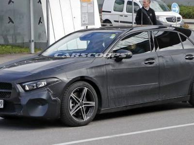 All-New Mercedes A-Class Loses Heavy Camo, Lookin' Real Stylish
