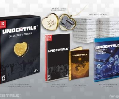 The Undertale collector's edition on Switch is available to pre-order for $69