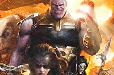 Thanos' New Weapon Revealed in Leaked Avengers 4 Art?The