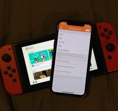 How to set up parental restrictions on the Nintendo Switch News feed