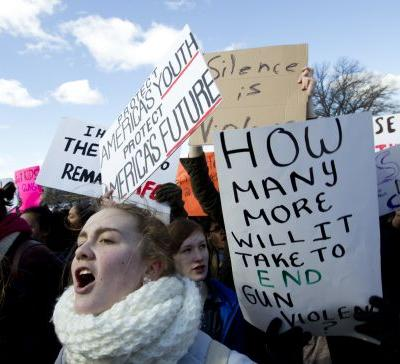 9 of the most powerful signs from the National Student Walkout