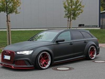 Audi A6 Avant Looks Sinister with New Bodykit and Wheels