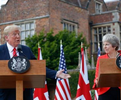 Theresa May: Trump told me to 'sue the EU' over Brexit