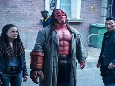 First 'Hellboy' Trailer Is a Fiery Battle Against Gruesome Monsters