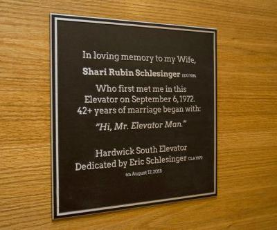University honors students who found love in elevator in '72