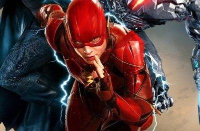 Flashy New Justice League Poster Has Barry Allen Leading the