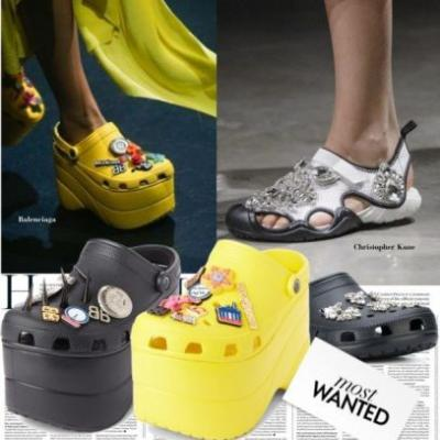 Crocs Will Be THE Shoe for S/S 2018