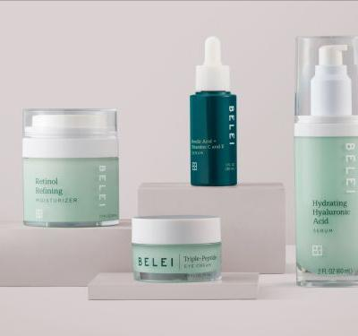 Amazon has launched its first-ever skin-care line, called Belei - all 12 products are $40 or less