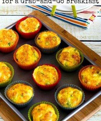 Low-Carb Egg Muffins for a Grab-and-Go Breakfast