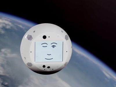 SpaceX just launched a flying robot head that will befriend lonely astronauts on the space station - and later spy on them