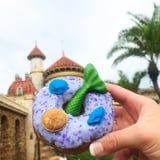 A Purple Mermaid Doughnut Is Flipping Its Way to Disney World, and It's MAGICAL