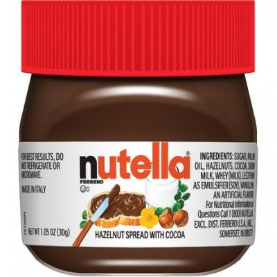 These Mini Christmas Nutella Jars Selling For $1 Are The Perfect Holiday Gifts