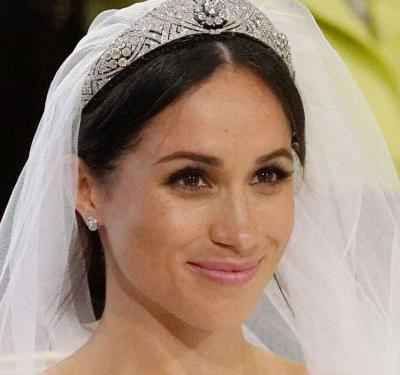 Meghan Markle Got Her Tiara From Queen Elizabeth's Private Collection