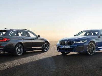 Updated BMW 5-Series Brings a 523bhp M550i And Much Grille