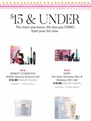 Sephora's Black Friday 2018 Sale Offers Incredible Beauty Sets At $15 & Under