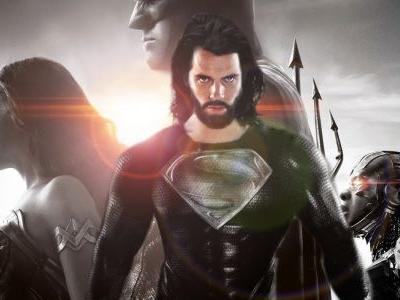 Justice League Filmed Superman Black Suit Scenes