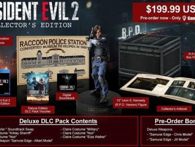Resident Evil 2: Collector's Edition goes up for preorder