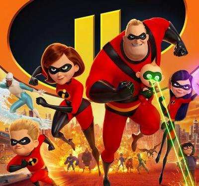 'Incredibles 2' breaks animation box office record with $180 million