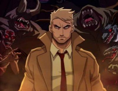 New Poster for the Constantine Animated Series on CW Seed