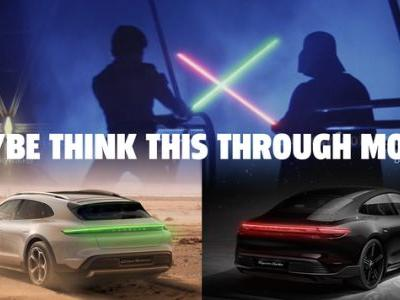 Porsche's Star Wars-Related Tweet Implies All Cars Are Part Of The Dark Side