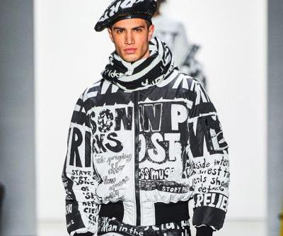 Jeremy Scott Unveils Tabloid-Inspired Fall 2019 Collection