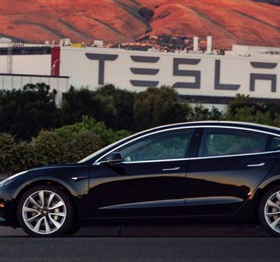 Tesla is rising after reports it has started to deliver the Model 3 to regular customers