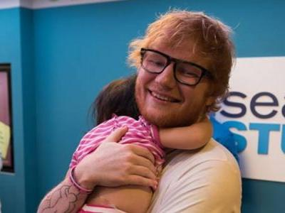 Ed Sheeran performs 'Perfect' for patients at Boston Children's Hospital