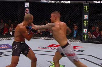 Dustin Poirier TKOs Eddie Alvarez with an absolute onslaught in the 2nd round | HIGHLIGHTS | UFC FIGHT NIGHT