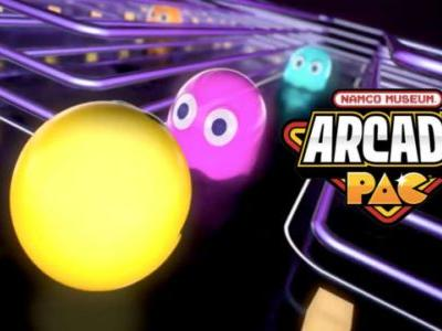 Namco Museum Arcade Pac Coming this September