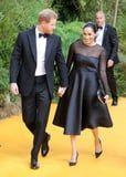Meghan Markle Is the Epitome of Class in a LBD at the Lion King Premiere With Prince Harry
