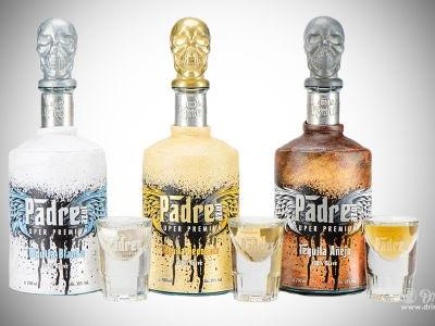 Padre Azul Celebrates Life with Trademark Death's-Head Tequila Bottles