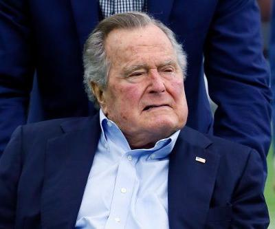 Former President George HW Bush hospitalized