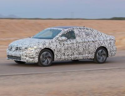 2019 Volkswagen Jetta Prototype Driven: Tailor-Made for the U.S.A