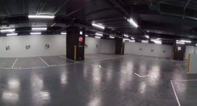 Tesla Shows What the Parking Garage of the Future Could Look Like