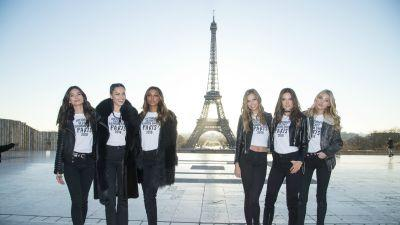Victoria's Secret Angels Took the Same Eiffel Tower Photo Approximately Infinity Times