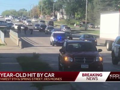 12-year-old hit by car on SW 9th Street