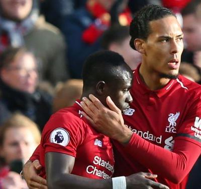 Crisis over! Liverpool's Mane of the moment settles title jitters