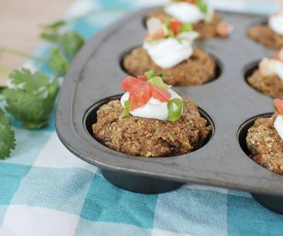 Mini Mexican Meatloaf