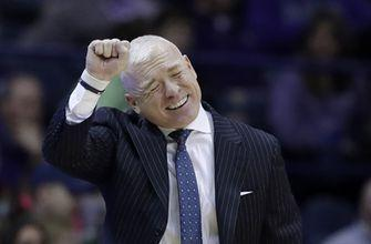 Law guides Northwestern to 70-61 win over Penn State