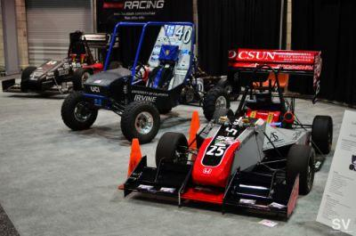 11tuning: My alma mater CSUN Formula SAE at the LA Auto Show