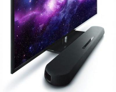 Yamaha YAS-108 sound bar is ultra-slim with 3D sound