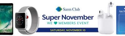 Sam's Club Plans One-Day-Only Member Event With $30 Savings on AirPods and More
