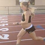 This Woman Casually Ran a 5:25-Minute Mile at 9 Months Pregnant, and We're In Awe Right Now