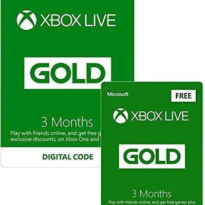 UK Daily Deals: Half Price 6 Month Xbox Live